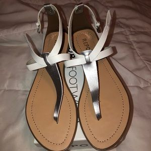 Brand New - Report Leather Sandals